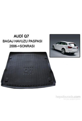 Audi Q7 Jeep Bagaj Havuzu Paspası 2006- Sonrası