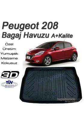 Peugeot 208 Bagaj Havuzu 208 Bagaj Paspası