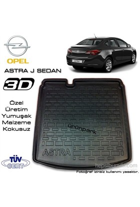 Opel Astra J Sedan Bagaj Havuzu Araca Özel