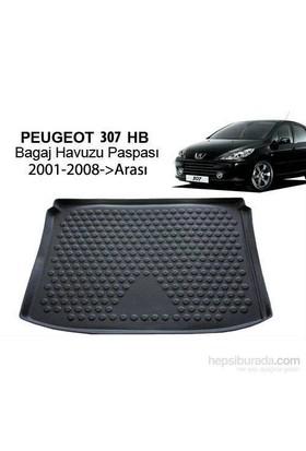 Peugeot 307 Hb Bagaj Havuzu Paspası 2001-2008
