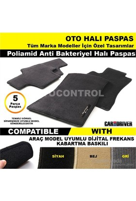 Skoda Yeti 2012 Model Halı Siyah Paspas 42040