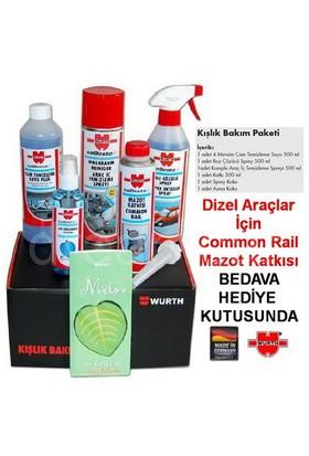 Würth Kışlık Set Dizel Araçlar İçin Hediye Kutusunda Made in Germany 9893567