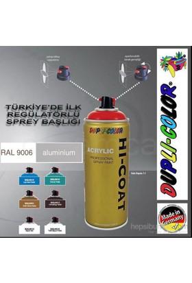 Dupli-Color Hi-Coat Ral 9006 Parlak Aluminyum Akrilik Sprey Boya 400 Ml. Made in Germany 406287