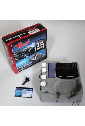 Dreamcar Inwells Beyaz Park Sensörü Ses İkazlı 4 Sensörlü 6521002