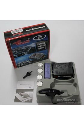 Dreamcar Inwells 4 Beyaz Sensörlü Park Sensörü Dijital Ekranlı,Ses İkazlı 6522003