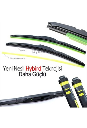 ByLizard Toyota Auris Hybird Silecek Takımı (2007-2012) 650 mm/400 mm