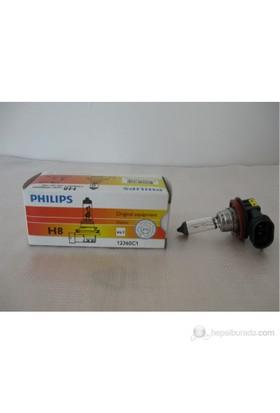 Philips H8 12V 35W Pgj19-1 Plastik Soketli