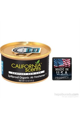 California Car Scents TAZE KETEN TOHUMU