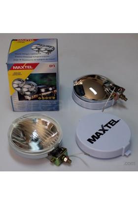 Maxtel 138mm Yuvarlak Şeffaf Lens Sis Farı Takım JF601CW