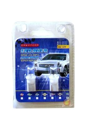 Dreamcar Dipsiz Led Ampul T10 7 Renk 2'li 56314