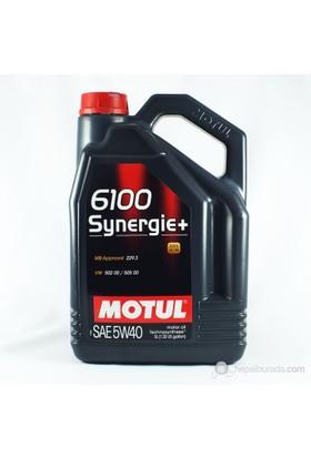 Motul 6100 Synergie+ 5W40 Ultra Performance Motor Yağı 3385a 5LT
