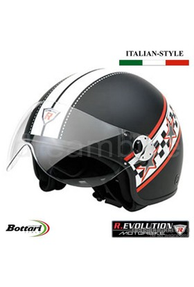 Revolution RS2 Siyah Medium Kask 64491