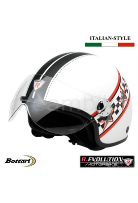 Revolution RS2 Beyaz Medium Kask 64509
