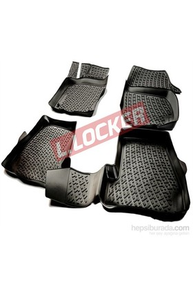 L.Locker Volkswagen Jetta 2005-2010 3D Havuzlu Paspas