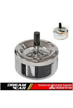 Dreamcar Otomatik Kapaklı Metal Küllük 07105