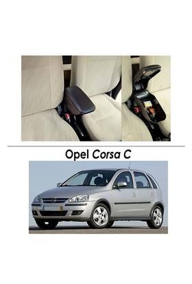 Bylizard Opel Corsa C Kol Dayama Kolçak Siyah - Araca Özel