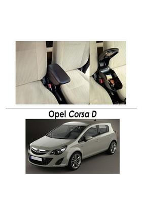Bylizard Opel Corsa D Kol Dayama Kolçak Siyah - Araca Özel
