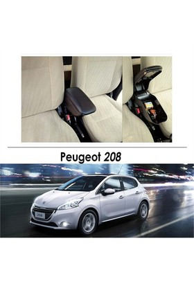 Bylizard Peugeot 208 Kol Dayama Kolçak Siyah - Araca Özel