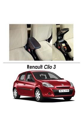 Bylizard Renault Clio 3 Kol Dayama Kolçak Siyah - Araca Özel