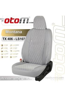 Otom Hyundaı I30 2012-Sonrası Montana Design Araca Özel Deri Koltuk Kılıfı Gri-107