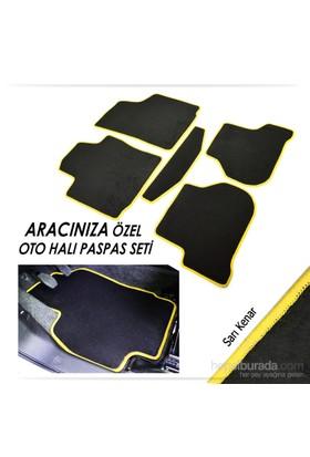 Bylizard Opel Meriva Halı Paspas Seti Sarı Kenar-0101496