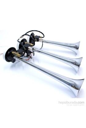 ModaCar 3 Borulu Arap Kornası Havalı Elektrikli Korna 12 VOLT 423674