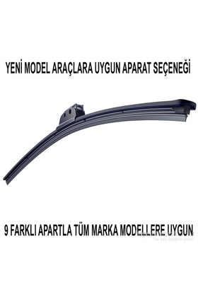 Silecek Marka Model Uyumlu 9 Aparatlı 65 cm