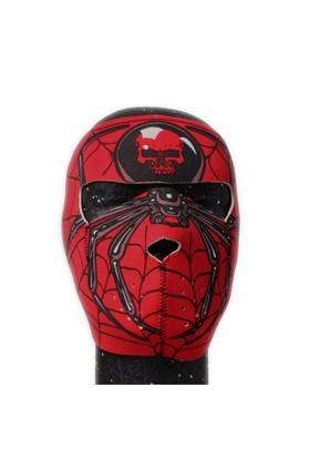 Dahice Full Face Neopren Örümcek Desenli Maske