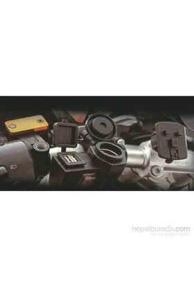 Moto Çakmaklık + 2'li USB Soketi
