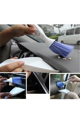 Biartt Araç İçi Temizleme Fırça Kürek Seti