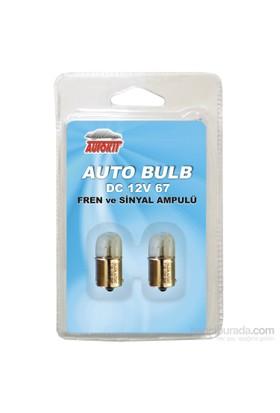 Autokit 12 V 67 Ampul 2 Li Set