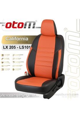 Otom Chevrolet Aveo 2012-Sonrası California Design Araca Özel Deri Koltuk Kılıfı Pişmiş Toprak-107