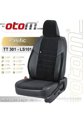 Otom Honda Jazz 2002-2009 Pasific Design Araca Özel Deri Koltuk Kılıfı Siyah-107