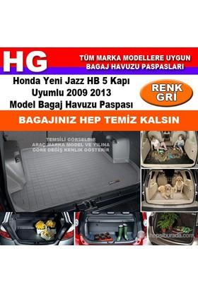 Honda Yeni Jazz 2009 2013 Gri Bagaj Havuzu Paspası 38817