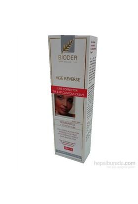 Bioder Göz / Dudak Kenarları Kırışıklıklarına Karşı Konsantre Krem SPF 15 15 ml