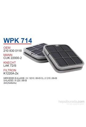 Wunder MERCEDES 210 - 220 KASA (İKİLİ KARBONLU) Polen Filtresi OEM NO:2108300118