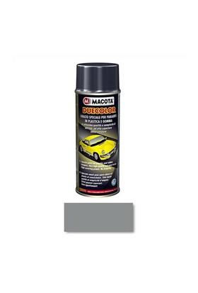 Macota Duecolor Plastik,Tampon,Marşpiyel Boyası Sprey 400 Ml. Gri %100 Saf Akrilik 0402090