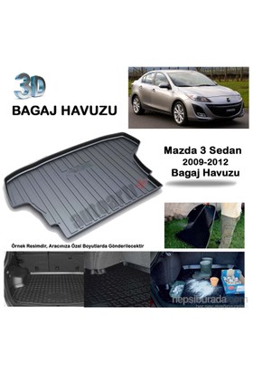 Autoarti Mazda 3 Sedan Bagaj Havuzu 2009/2012-9007624