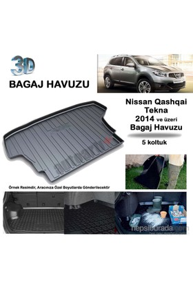 Autoarti Nissan Qashqai Tekna Bagaj Havuzu-9007635