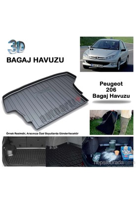 Autoarti Peugeot 206 Hb Bagaj Havuzu-9007653