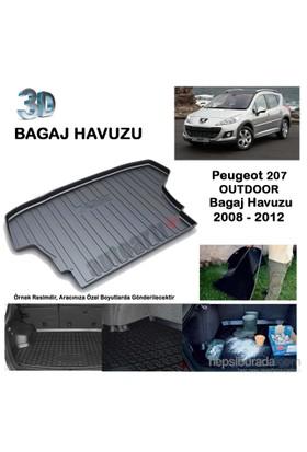 Autoarti Peugeot 207 Outdoor Bagaj Havuzu-9007655