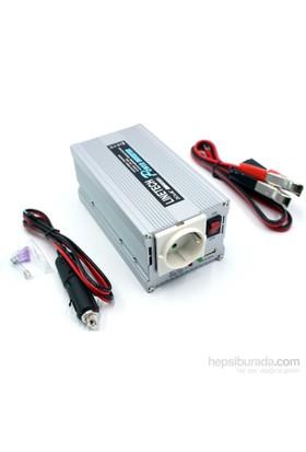 Koselli 300 Watt 12 Volt Aküden 220 Volt Çıkış Veren Dönüştürücü 424113