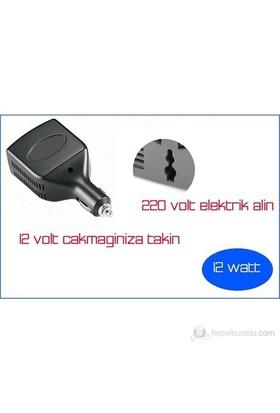 ModaCar 12 V - 220 V Dönüştürücü 12 Watt 660026