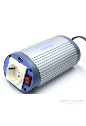 Koselli Linetech Usb Çıkışlı 24 Volt >> 220 Volt Inverter 150 Watt 660030