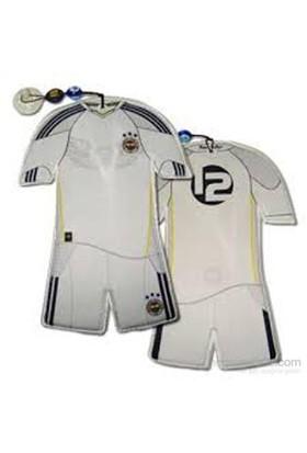Carda Fenerbahçe Vantuzlu Mini Lisanslı Forma (Beyaz)