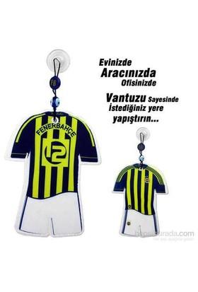 Carda Fenerbahçe Vantuzlu Orta Boy Lisanslı Forma (Çubuklu)