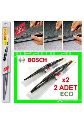 Bosch Eco 450 mm.x2 Ad. Universal Quick-Clip Telli Grafitili Silecek Takım 3397005159