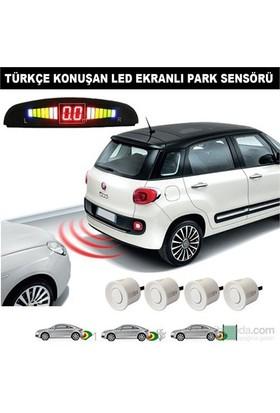 Carat Sensörlü Türkçe Konuşan Park Sensörü Siyah