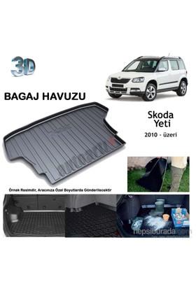 Autoarti Skoda Yeti Kısa Şase Bagaj Havuzu-9007711