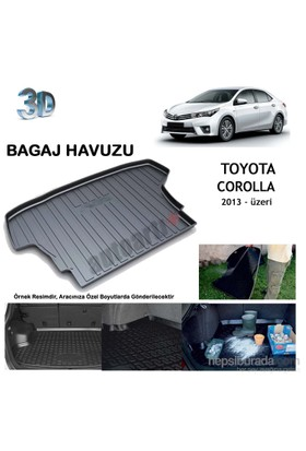 Autoarti Toyota Corolla Sedan 2013-Üzeri Bagaj Havuzu-9007721